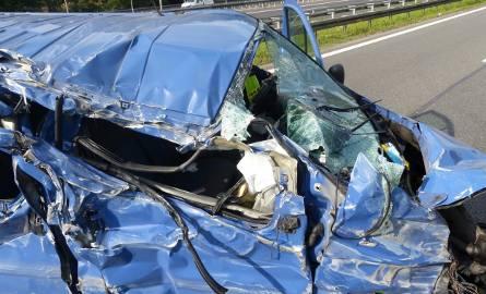 Śmiertelny wypadek na A4 w Katowicach: Kierowca zasnął?