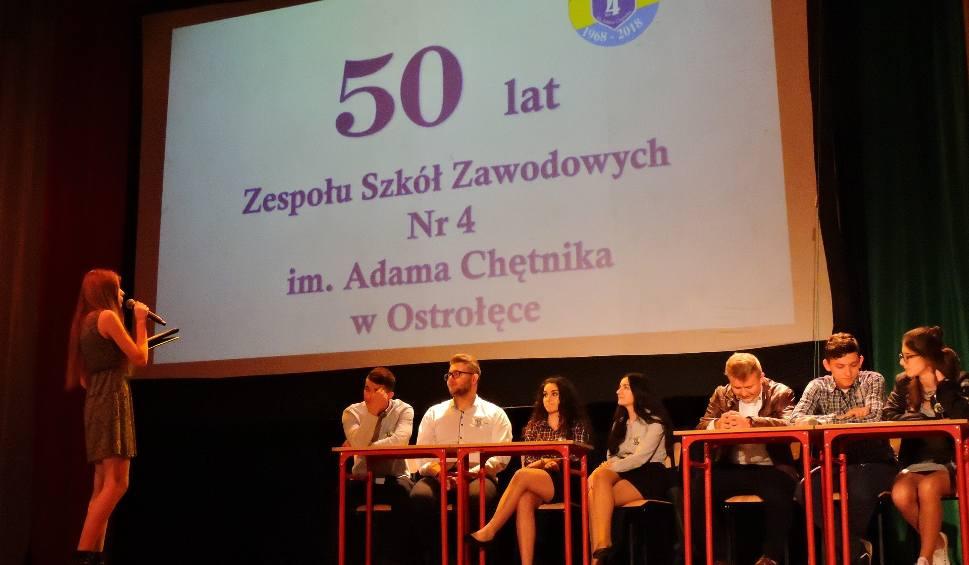 Film do artykułu: ZSZ nr 4 w Ostrołęce skończył 50 lat. Uroczysta gala jubileuszowa w OCK [ZDJĘCIA, WIDEO]