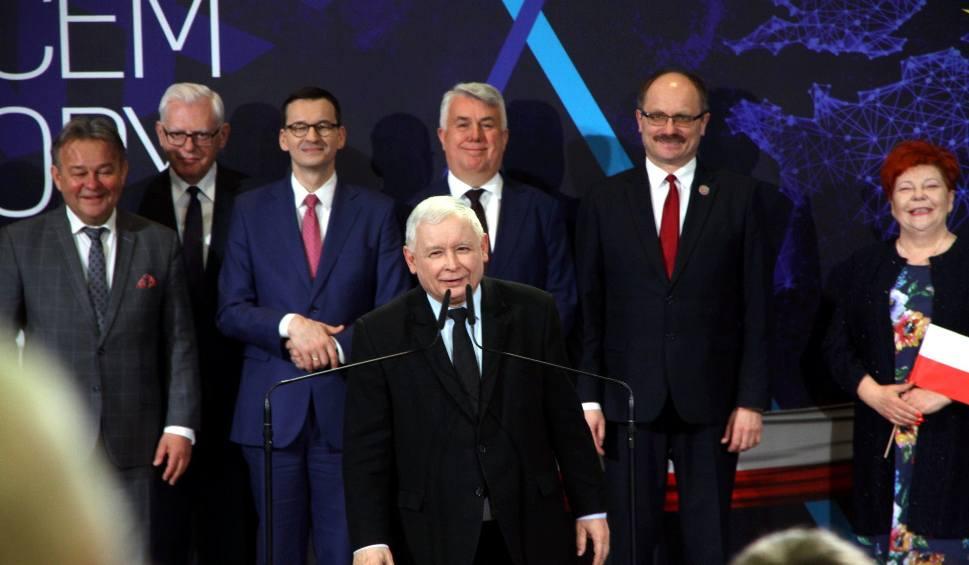Film do artykułu: Jarosław Kaczyński w Lublinie: Mówimy europejskie płace, a nie europejskie ceny (ZDJĘCIA)
