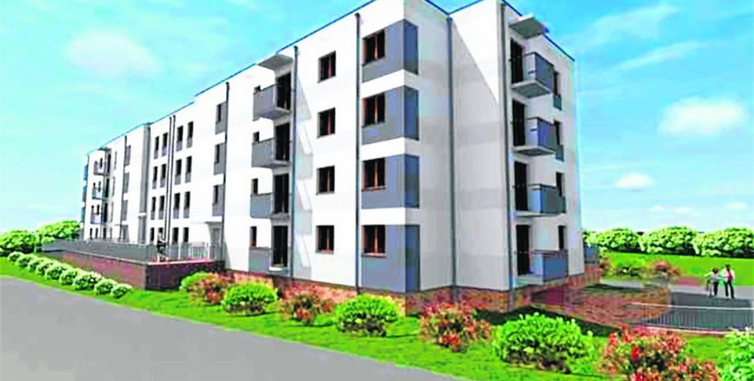 W tym budynku będzie 48 lokali - mieszkań 1, 2 oraz 3-pokojowych o powierzchniach od 29 do 58 metrów kwadratowych. Będzie to pierwszy taki blok w mi