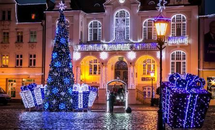 Wejherowo walczy o tytuł najpiękniej oświetlonego miasta w Polsce!