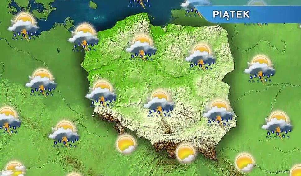 Film do artykułu: Pogoda w Opolu i na Opolszczyźnie. Piątek ciepły i burzowy