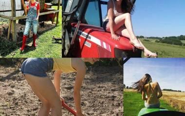 """Rolnik w szpilkach to profil na Instagramie znanej z """"Rolnik Szuka Żony"""" Małgosi Sienkiewicz. Rolniczka pokazuje, że kobieta pracująca"""