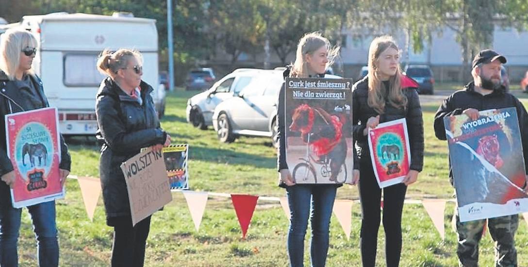 Wolsztyn: Cyrk wzbudza kontrowersje. Mieszkańcy protestują