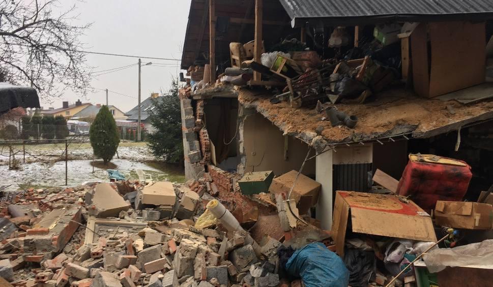 Film do artykułu: Wybuch gazu w Sandomierzu. Dwie osoby ranne