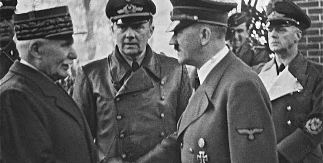 Spotkanie Philippe'a Pétaina z Adolfem Hitlerem w Montoire-sur-le-Loir, 24 października 1940 roku