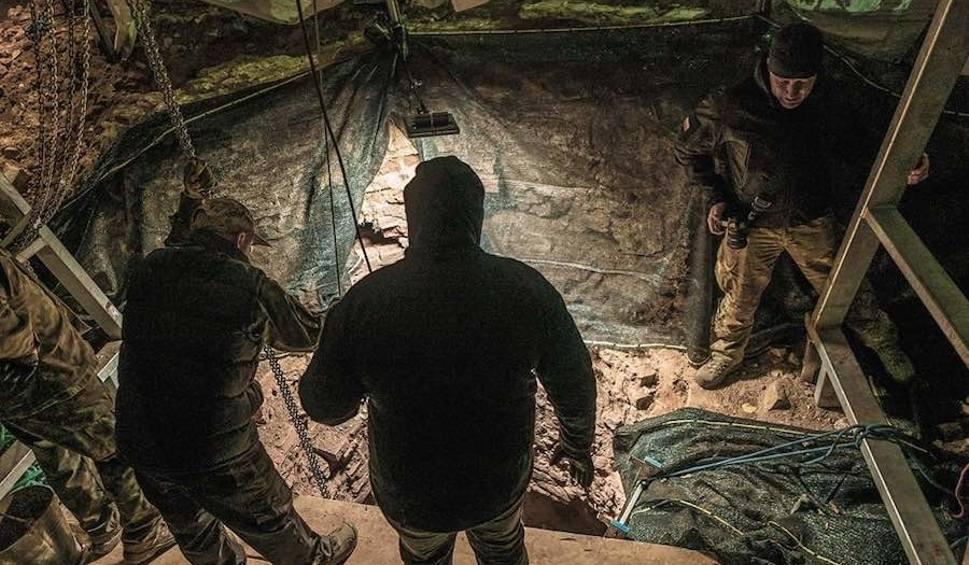 Film do artykułu: Złoty pociąg: Badają tajemniczą studnię w okolicach Książa