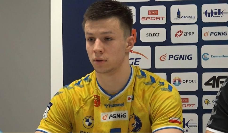 Film do artykułu: Michał Olejniczak z Łomża Vive Kielce po meczu w Opolu: Głowami byliśmy jeszcze w autokarze (video)