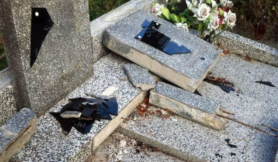 Film do artykułu: Milejczyce. Policja wytropiła dzieci. Zdewastowały dwa cmentarze (zdjęcia, wideo)