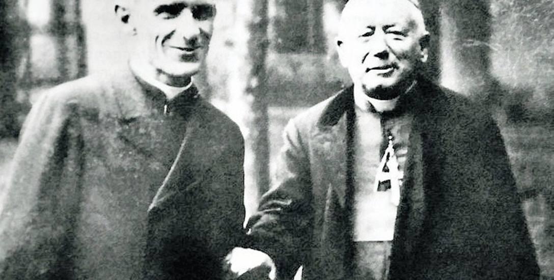 Rektor Bruno de Solages i apb. Jules Saliège