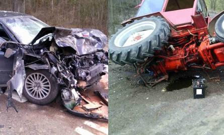 W wypadku w Karczach pod Sokółką zginął kierowca traktora
