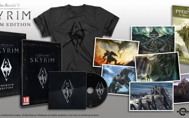 The Elder Scrolls V: Skyrim Premium Edition. Premiera 7 grudnia