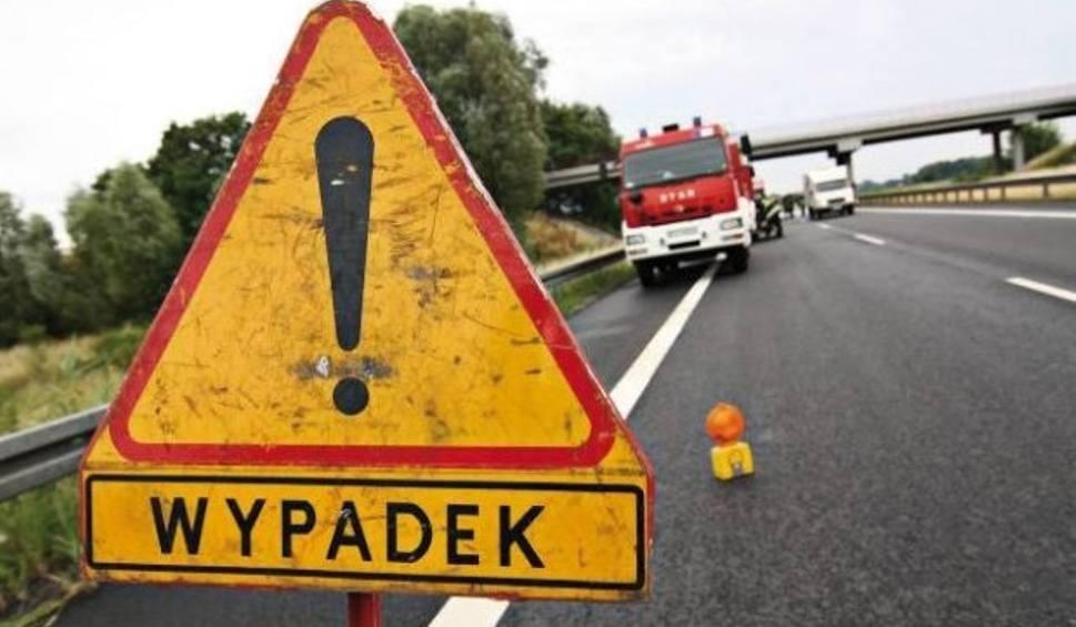Film do artykułu: Wypadek na DK78 w Siewierzu. Bus zderzył się z samochodem [AKTUALIZACJA]