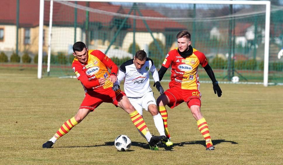 Film do artykułu: Chojniczanka wygrała mecz sparingowy z GKS Bełchatów [zdjęcia]