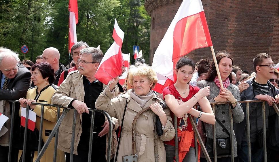 Film do artykułu: Obchody 3 maja w Krakowie [NOWE ZDJĘCIA]