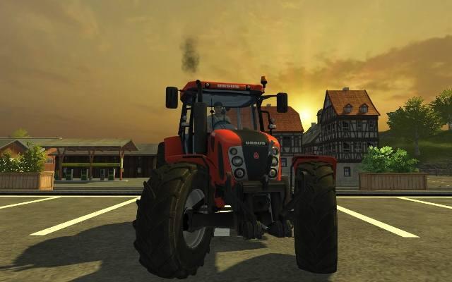 Farming Simulator 2013: Dodatek Ursus. Traktory wyjeżdżają na pole