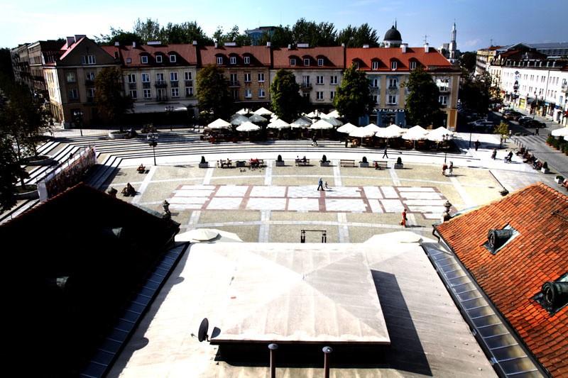 Rynek Ko�ciuszki - wrzesie� 2010