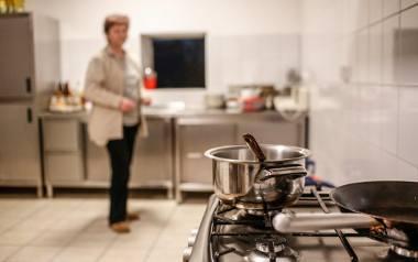 Kuchnia jest nowoczesna i przede wszystkim czysta. To piękny dar dla Domu Samotnej Matki od Anny Lewandowskiej