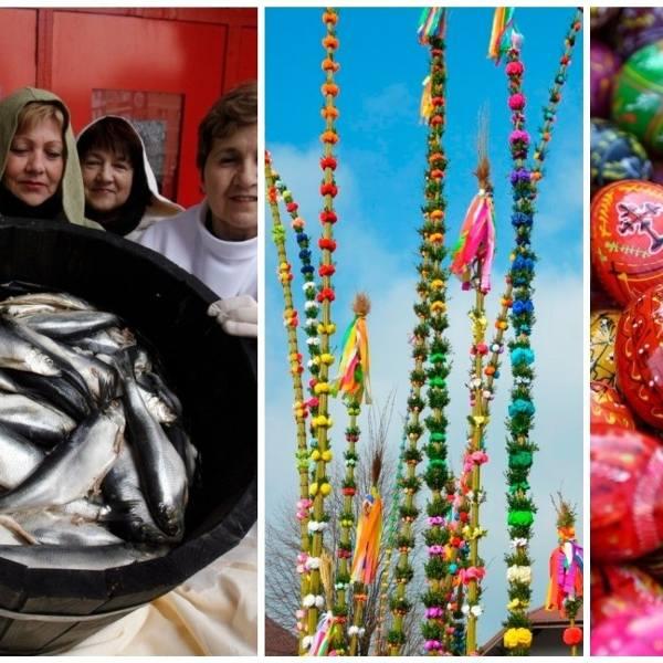 Jedzenie bazi, pogrzeb żuru, wieszanie śledzia - Wielkanoc obfitowała w masę wierzeń i zwyczajów ludowych. Sprawdźcie je!