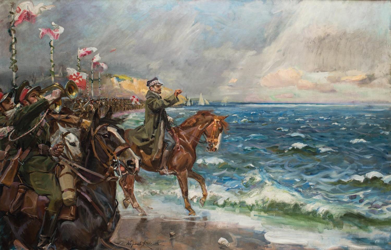 Wydarzenie postanowił uwiecznić Wojciech Kossak, który w 1929 roku rozpoczął pracę nad obrazem