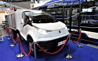 Prototyp pierwszego elektrycznego samochodu dostawczego Ursus zaprezentował w Hannowerze dwa lata temu