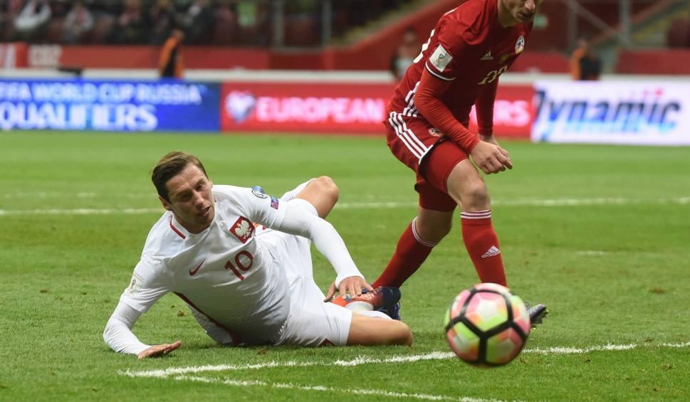 Film do artykułu: Grzegorz Krychowiak nie zagra z Czarnogórą!