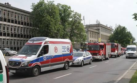 Alarm bombowy w budynku Telewizji Polskiej przy ul. Karkonoskiej