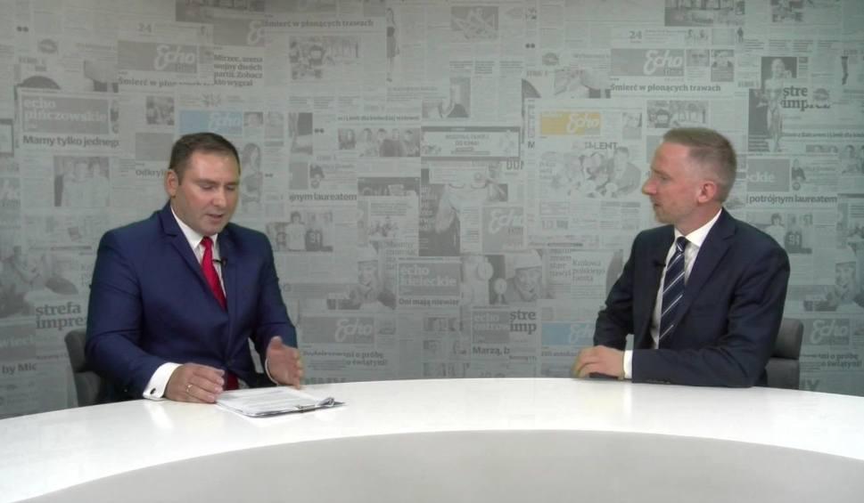 Film do artykułu: Wybory samorządowe 2018. Jaka przyszłość Pińczowa? Marcin Saltarski, kandydat na burmistrza [WIDEO]