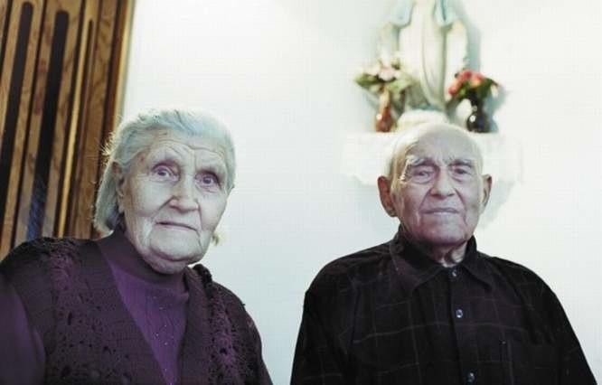 Józef i Helena są ze sobą już od prawie 70 lat. Przez ten czas byli praktycznie nierozłączni...