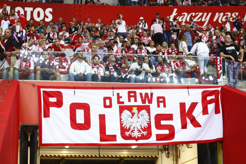 Kibice na meczu Polska - Anglia [DUŻO ZDJĘĆ]