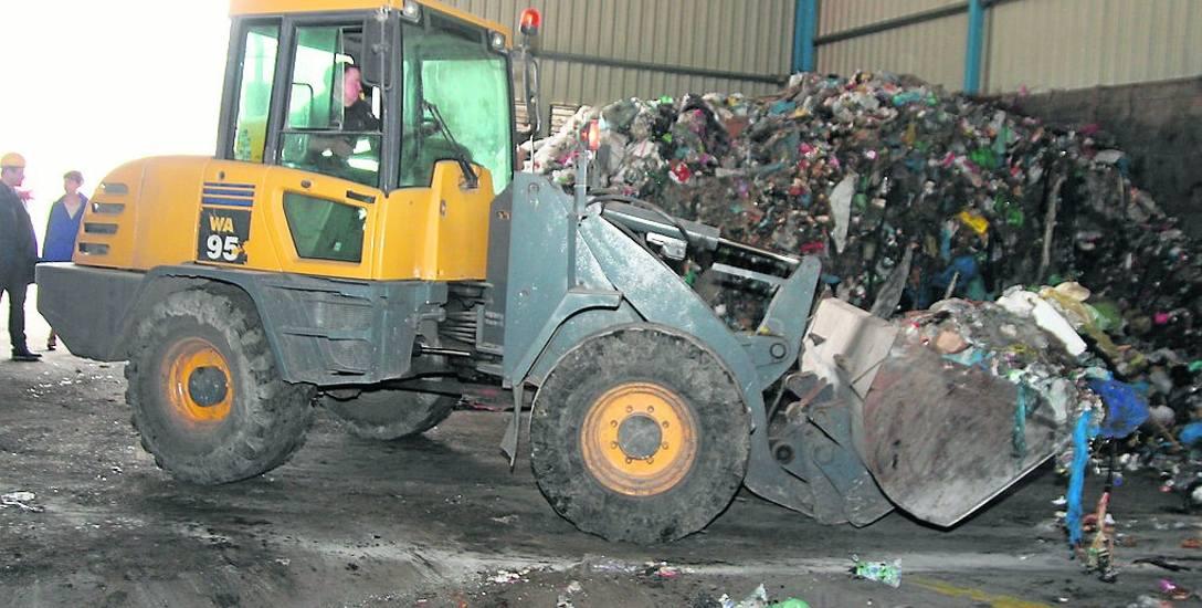 Każdego roku do trafia do Machnacza 60 tys. ton odpadów