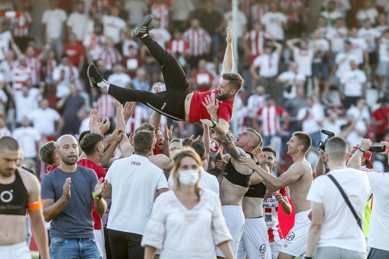 Resovia w I lidze - wielka feta na stadionie! [FOTO]