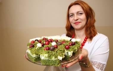 Ciasto a'la runo leśne to specjalność Joanny Domagały.
