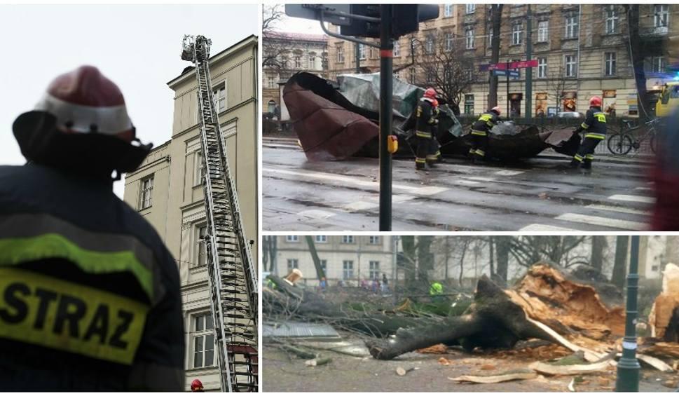 Film do artykułu: Wichura nad Małopolską wyrządziła sporo szkód