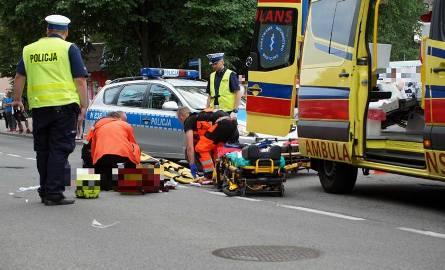 Do śmiertelnego wypadku doszło u zbiegu ulicy Lutosławskiego i Jaracza w Słupsku.