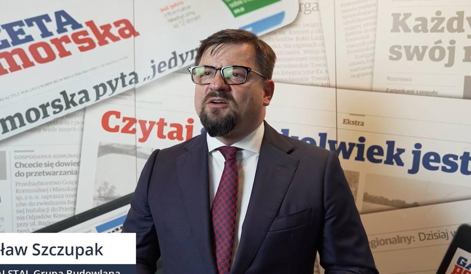 Film do artykułu: Jarosław Szczupak, prezes Alstalu o tym, jak firma radziła sobie w czasie pandemii [wideo]