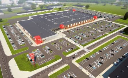 Powierzchnia Outlet Park Szczecin przeznaczona pod wynajem wyniesie ponad 23 000 mkw. Do dyspozycji klientów będzie około 1 400 miejsc parkingowych.