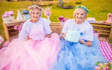 Bliżniaczki Paulina i Maria obchodzą 100 urodziny. Tę wyjątkową chwilę uwieczniła  Camila Lima