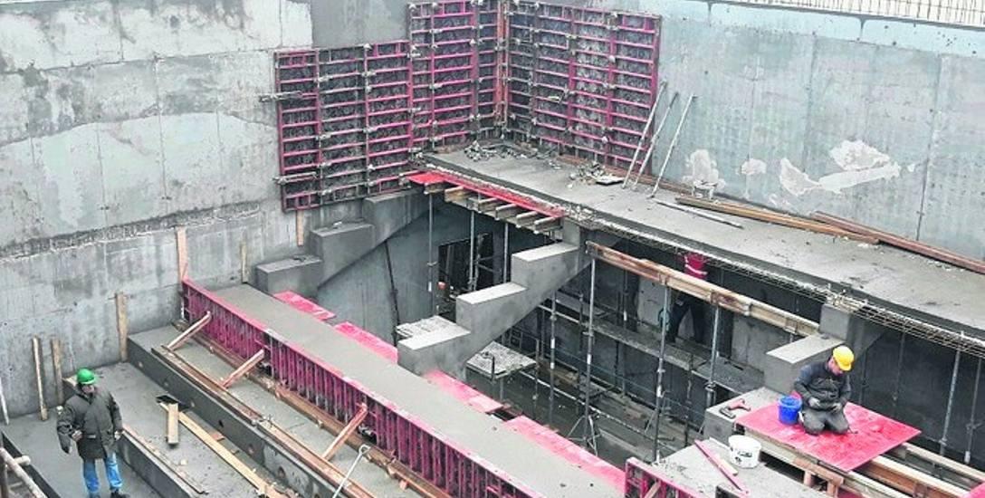 Trwają prace budowlane nowej siedziby Nowego Teatru