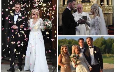 Natalia Mancewicz wzięła dziś ślub w Turośni Kościelnej.