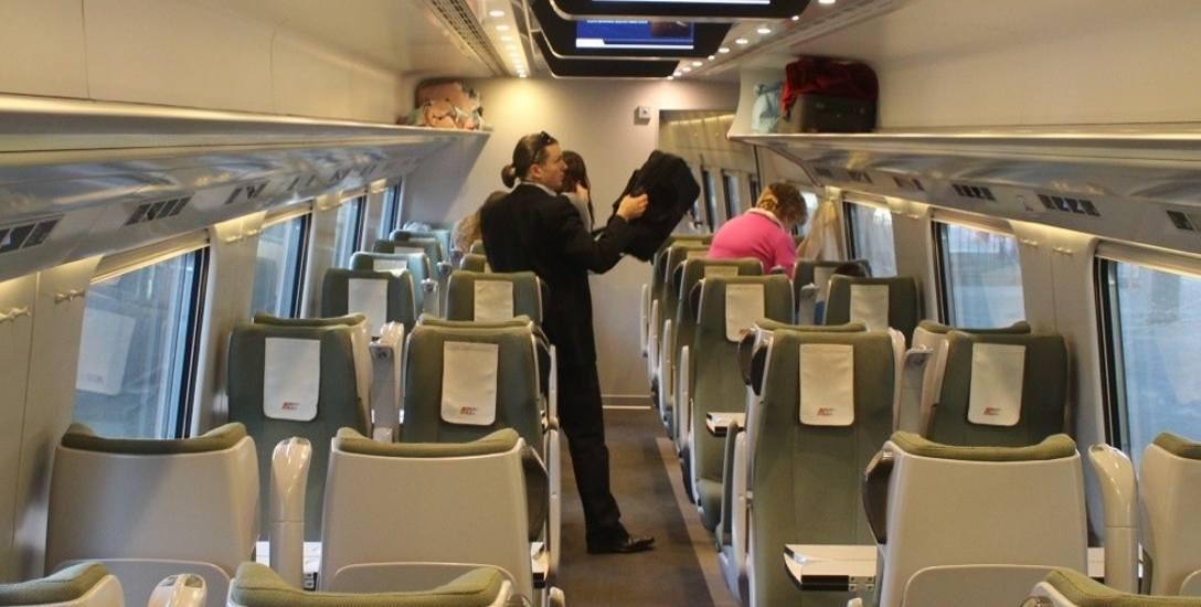Ludzie przeprosili się z pociągami, bo są szybsze, nowocześniejsze i wygodniejsze.