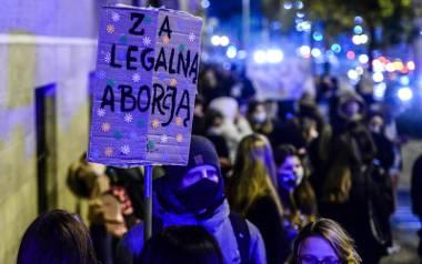 Protest w Gdańsku 25.10.2020