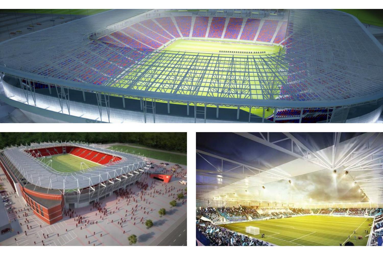 To nie koniec stadionowego boomu. Te obiekty mają powstać w najbliższym czasie [GALERIA]