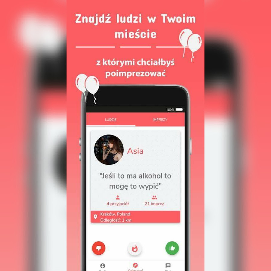 Nowa aplikacja randkowa oparta na lokalizacji