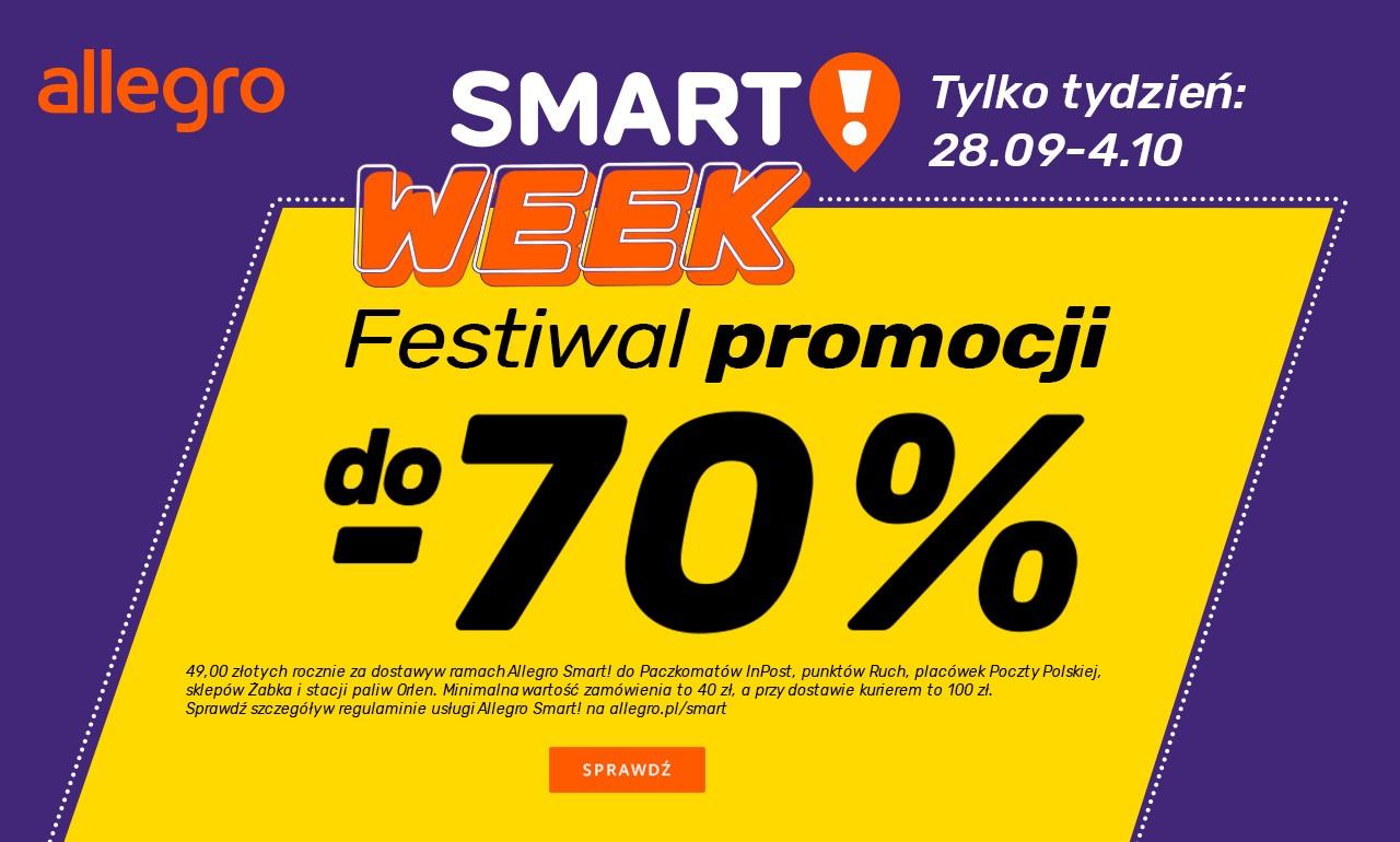 Allegro Smart Pomoze Ci Zaoszczedzic Na Zakupach Online Przygotuj Sie Na Smart Week I Tysiace Przecenionych Produktow Echo Dnia