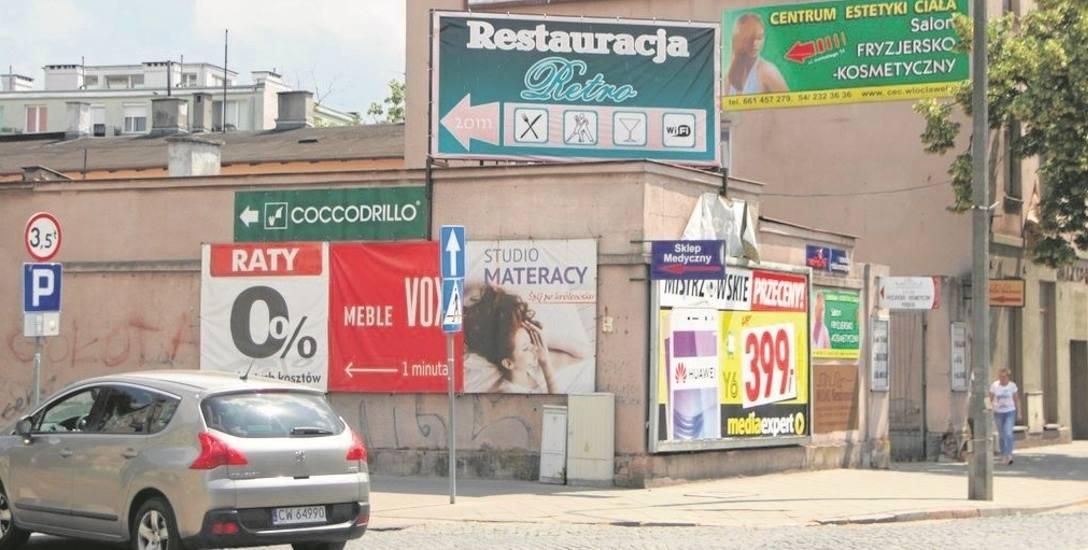 Jako jedno z brzydkich miejsc, przepełnionych reklamami, radna Ewa Szczepańska, inicjatorka wniosku o przygotowanie uchwały, wskazuje na ulicę Kiliń