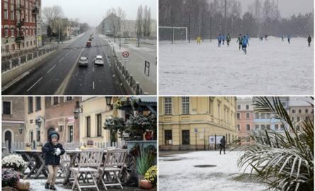 Śnieg w woj. lubelskim. Opady dotarły do naszego regionu (ZDJĘCIA)