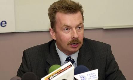 Szef zachodniopomorskiej SLD, Dariusz Wieczorek.