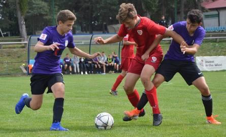 Centralna Liga Juniorów U-15. Akademia Piłkarska Macieja Murawskiego Zielona Góra - Piast Gliwice 1:3 (1:3)