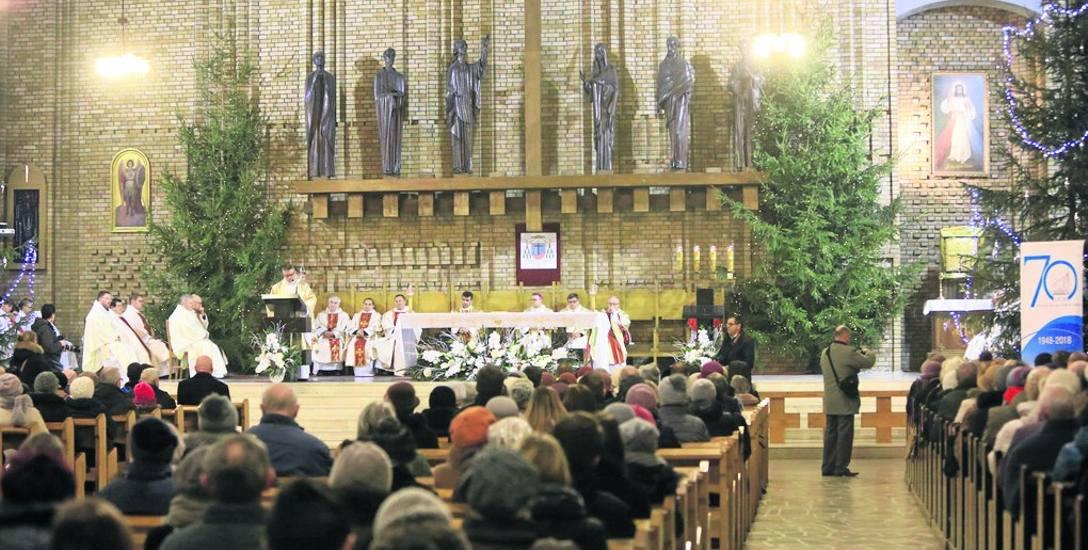Obchody 70-lecia obecności michalitów w Toruniu rozpoczęły się od mszy św. w kościele na rybakach
